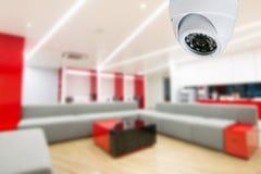 Контроль CCTV камеры слежения офиса Стоковые Фотографии RF