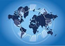 Контролировать мир Стоковая Фотография RF