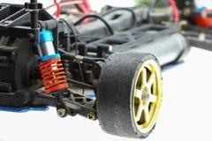 контролируемые Радио автомобильные автомобили багги RC, машина электронного автомобиля Стоковое Фото