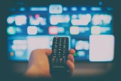 контролируйте дистанционный tv Стоковые Изображения RF