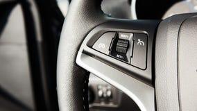 Контролируйте кнопки на рулевом колесе Стоковое Изображение