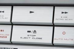 Контролируйте оборудование кнопок звуковое Стоковые Фотографии RF