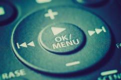 контролируйте remote Стоковые Изображения RF