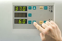 Контрольная панель Стоковые Фотографии RF