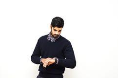 Контрольное время человека Стоковое Изображение RF