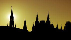 Контур красной площади в Москве стоковые фото
