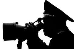 контур militarian Стоковое фото RF