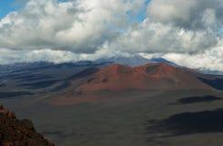 Конус гари извержения 1975 борозды Tolbachik северного прорыва большого Стоковые Изображения RF