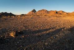 Конус границы в западной Аризоне стоковые фотографии rf