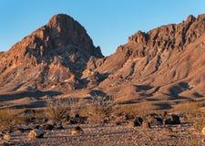 Конус границы в западной Аризоне стоковое фото rf