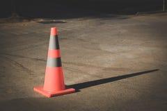 Конус движения на дороге Стоковое Фото