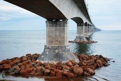 конфедерация brunswick моста новая Стоковые Фотографии RF