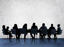 Конференции встречи бизнесмены концепции обсуждения Стоковые Фотографии RF