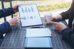 Конференция деятельности Co, команда дела встречая настоящий момент, инвестора e Стоковые Изображения