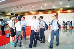 Конференция обменом технологии батареи Китая международные/выставка (CIBF) Стоковое Фото