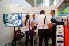 Конференция обменом технологии батареи Китая международные/выставка (CIBF) Стоковые Фотографии RF
