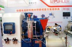 Конференция обменом технологии батареи Китая международные/выставка (CIBF) Стоковые Изображения RF
