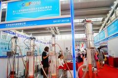 Конференция обменом технологии батареи Китая международные/выставка (CIBF) Стоковое фото RF