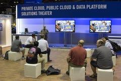 Конференция 2012 Майкрософта TechEd стоковое фото rf