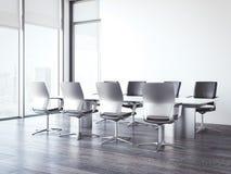 Конференц-зал в офисном здании перевод 3d Стоковые Фото