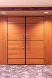 конференц-зал двери конференции к Стоковая Фотография