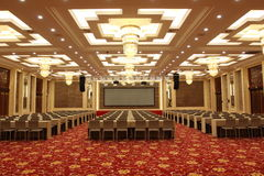 Конференц-зал в гостинице Стоковое Фото