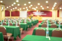 Конференц-зал, зала, света, бассейн освещение, нерезкость предпосылки, встреча стоковые фото