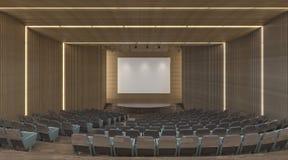 конференц-зал офиса иллюстрации 3d современный Стоковая Фотография RF