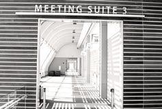 Конференц-залы и конференц-центр Стоковая Фотография