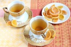 Конфета зеленого чая и студня плодоовощ Стоковая Фотография RF