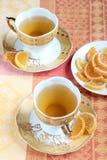 Конфета зеленого чая и студня плодоовощ Стоковое фото RF