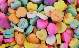конфета имеет сердца я один текст sms они Стоковое Изображение RF