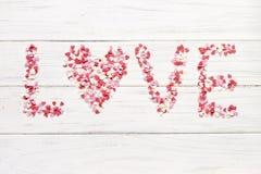 конфета имеет сердца я один текст sms они Стоковая Фотография