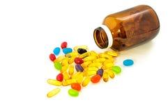 Конфета и Витамин D Стоковые Изображения