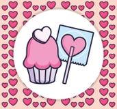 Конфета любов сердца сладкая бесплатная иллюстрация