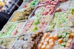 конфета на базаре Стоковые Фотографии RF