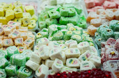 конфета на базаре Стоковая Фотография RF