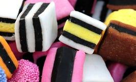 конфета предпосылки стоковая фотография