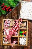 Конфета рождества Стоковое Изображение RF