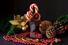 Конфета рождества Стоковая Фотография