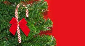 Конфета рождества Ribboned Стоковое фото RF
