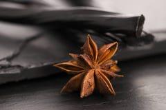 Конфета солодки с анисовкой звезды Стоковая Фотография RF