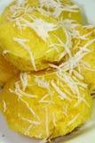 Конфета традиционный тайский десерт 5 Стоковое Изображение RF