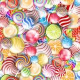конфета цветастая иллюстрация вектора