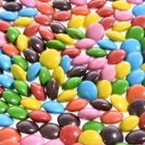Конфета Bonbons красочной предпосылки сладостная вкусная Стоковое Фото