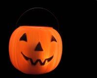 конфета halloween ведра Стоковые Фото