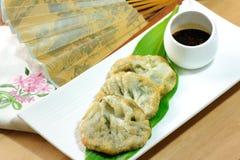 Конфета Kuicheai, chives чеснока с источником сои Тусклая сумма китайская кухня Стоковые Фотографии RF