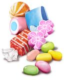 конфета s Стоковое Фото