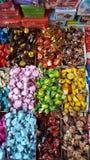 Конфеты для продажи в Карачи Стоковая Фотография
