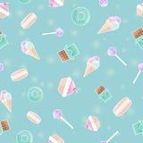 конфеты делают по образцу безшовное Стоковые Фотографии RF